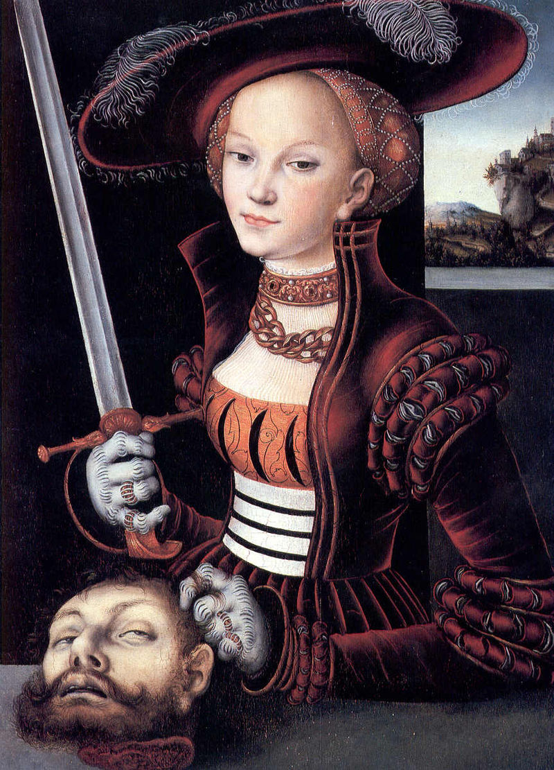 Story of judith and holofernes